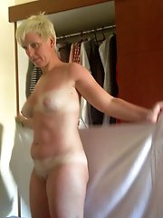 Busty tart having soaked cunt