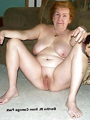 Mature females spreading their hips for cash