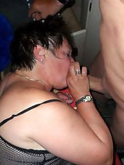 Dissolute woman trying to seduce