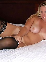 Remarkable older dame is baring it all on pix