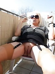 Glamorous mature chicks trying to tease
